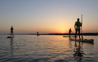 SUP Sunset Ria Formosa 3